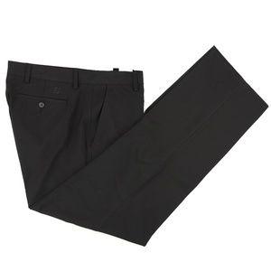 FootJoy Flat Front Golf Pants Size 35 X 32 Black